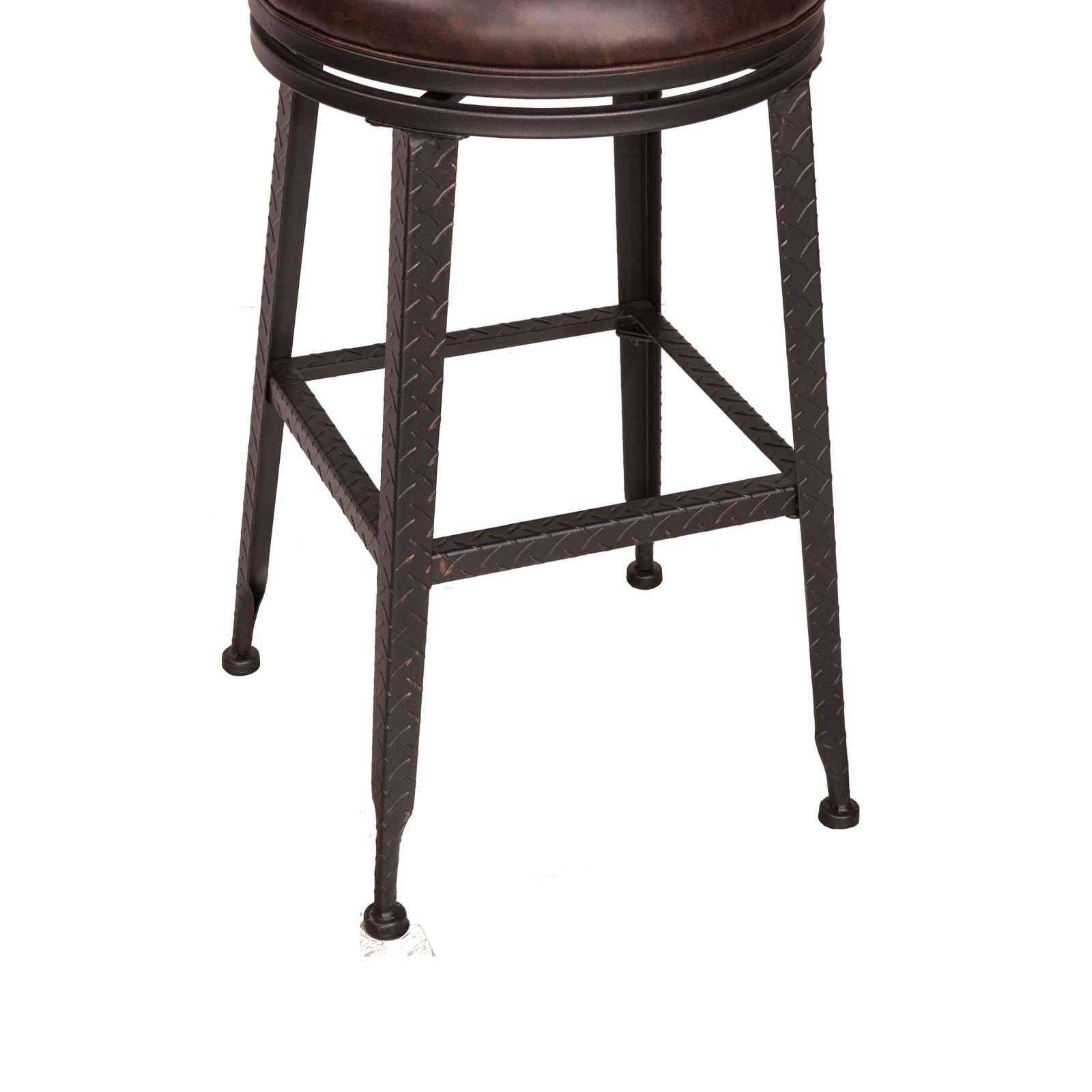 Super Hillsdale Hale Backless Swivel Bar Stool Short Links Chair Design For Home Short Linksinfo
