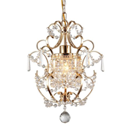 - Warehouse of Tiffany 1 Light Crystal Chandelier
