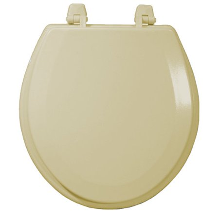 molded wood toilet seat natural