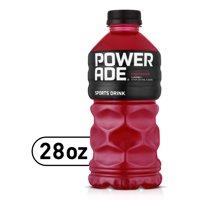 POWERADE Fruit Punch, ION4 Electrolyte Enhanced Fruit Flavored Sports Drink w/ Vitamins B3, B6, and B12, Replinish Sodium, Calcium, Potassium, Magnesium, 28 fl oz