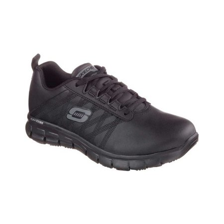 Skechers Work Women's Relaxed Fit Sure Track Erath Slip Resistant Work Shoe