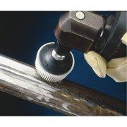 SCOTCH-BRITE 61500132214 Tapered Bristle Disc,3 In Dia,80G
