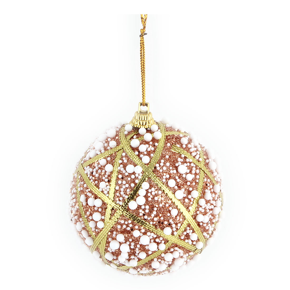 Unique Bargains Home Christmas Party Foam Snowflake Artificial Collectible Festive Hanging Ball