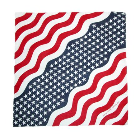 Cotton USA Flag Bandanas](Custom Bandanas)