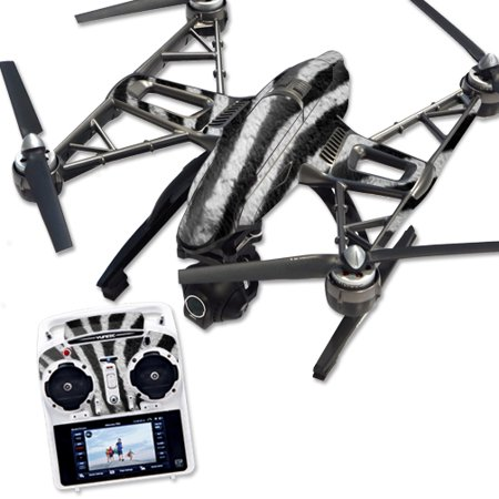 Skin Decal Wrap for Yuneec Q500 & Q500+ Quadcopter Drone Zebra