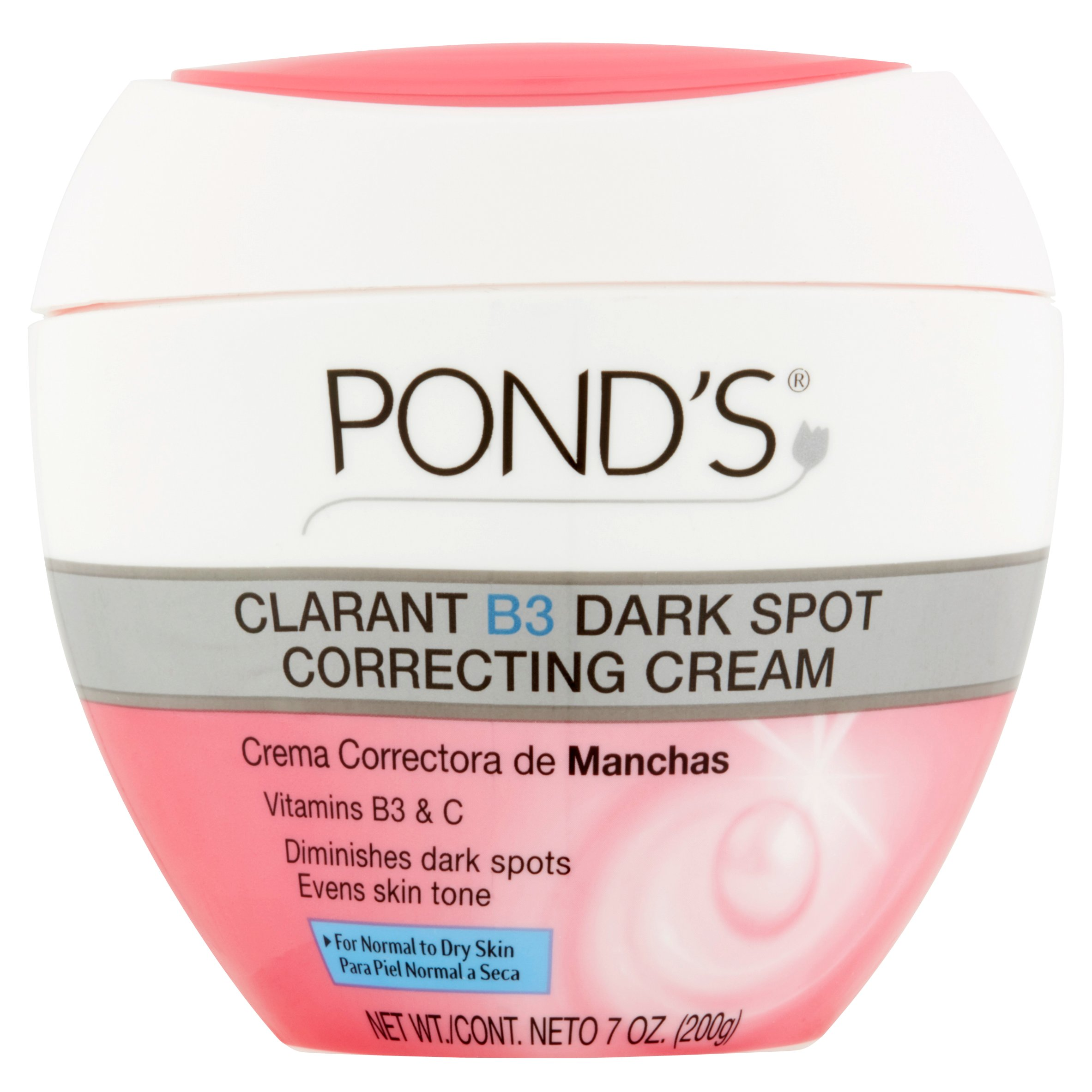 Pond's Correcting Cream Clarant B3 Dark Spot Normal to Dry Skin 7 oz