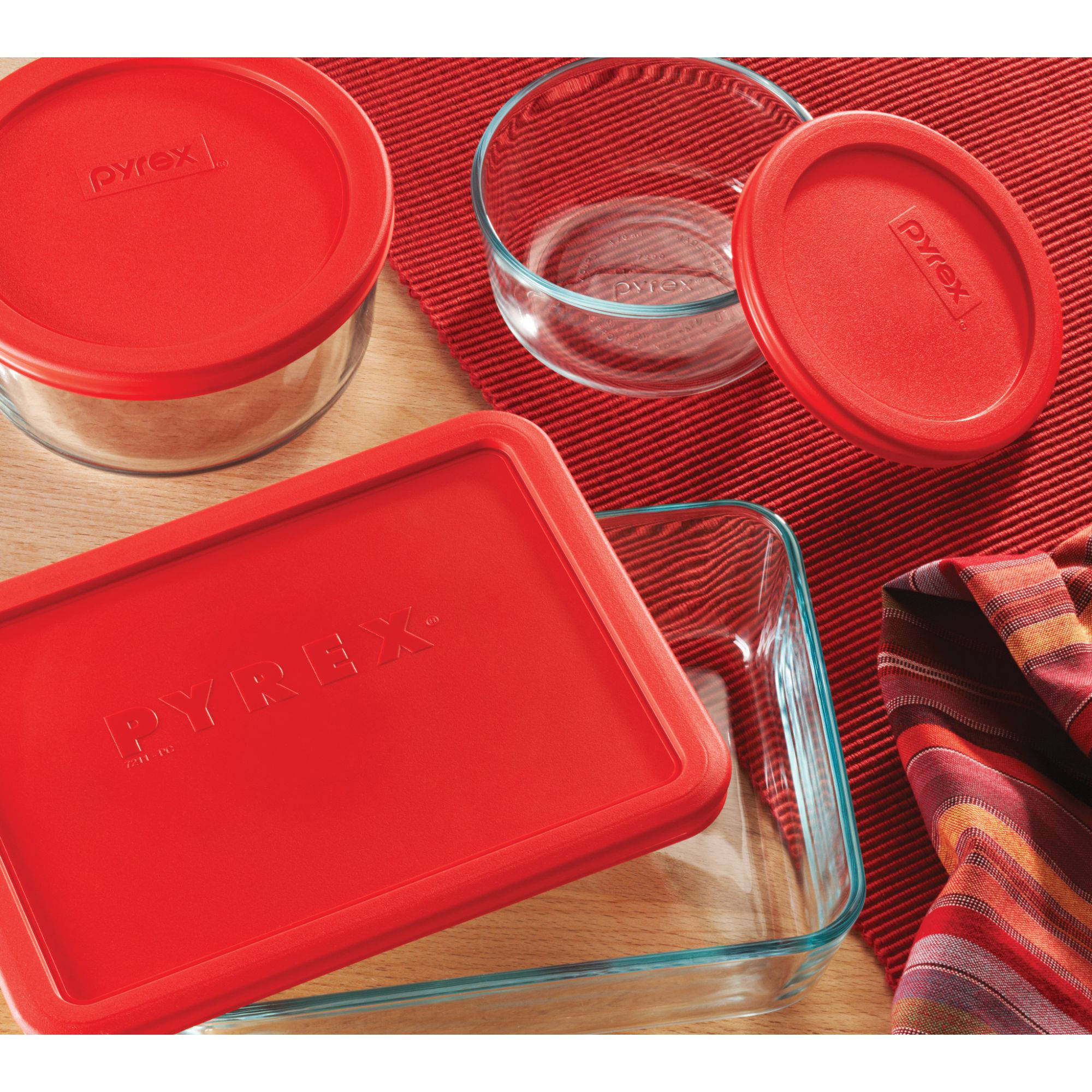 Pyrex 14 Piece Storage Plus Set   Walmart.com