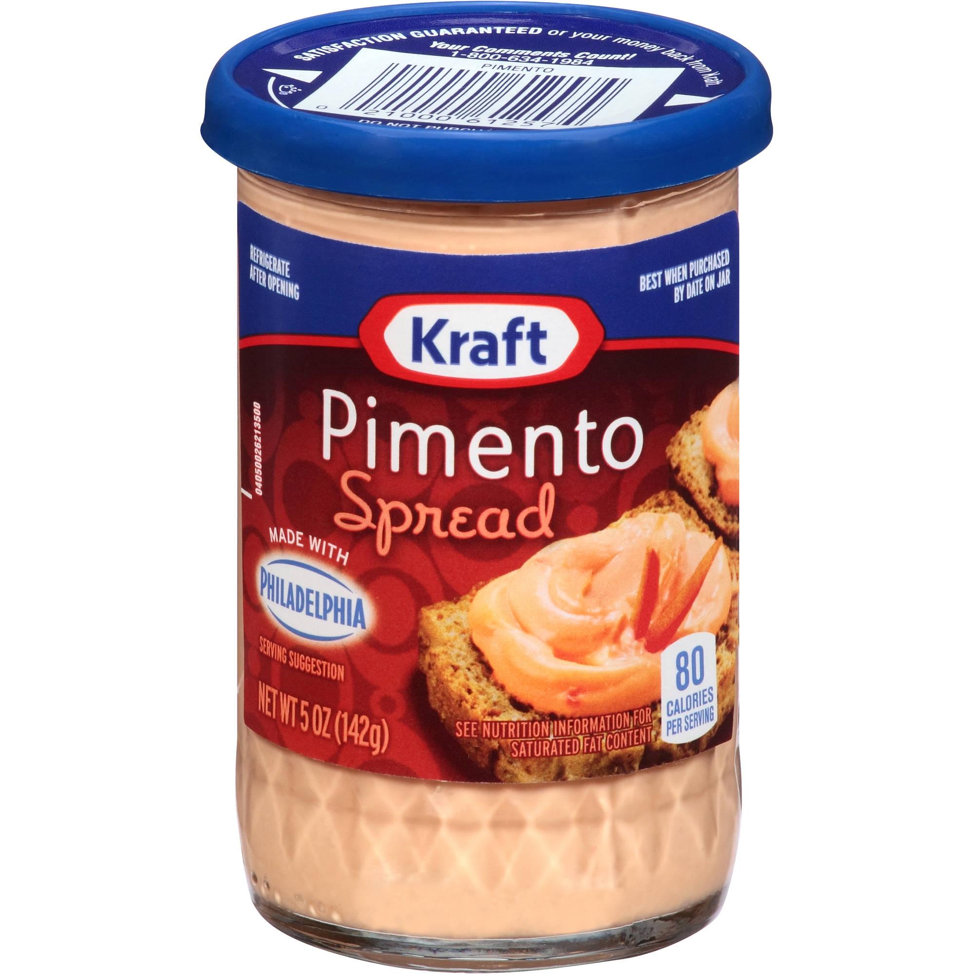 Kraft Cheese Spreads: Pimento Cheese Spread, 5 oz