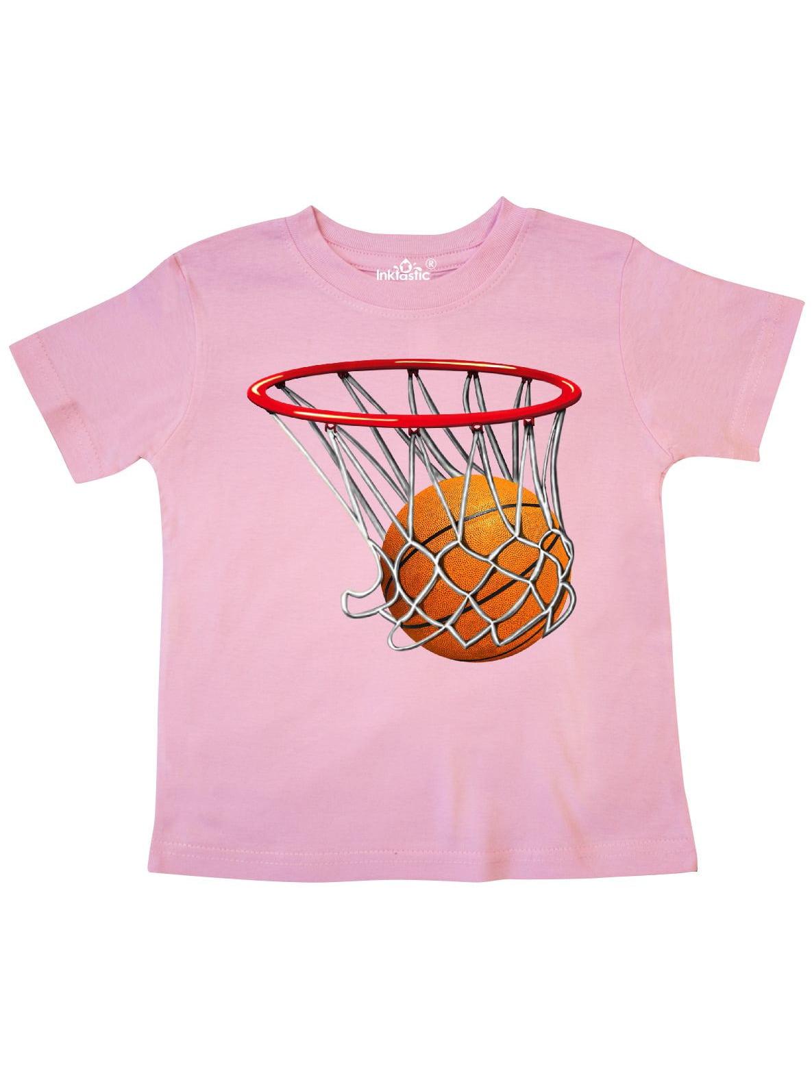 Basketball Swish Toddler T-Shirt