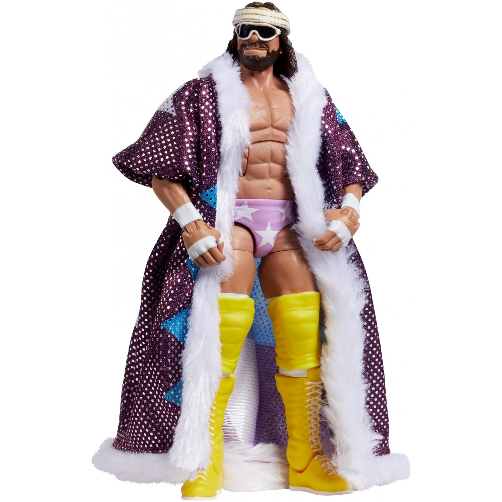 WWE Macho Man Randy Savage defiing moments Elite Série MATTEL WRESTLING FIGURE
