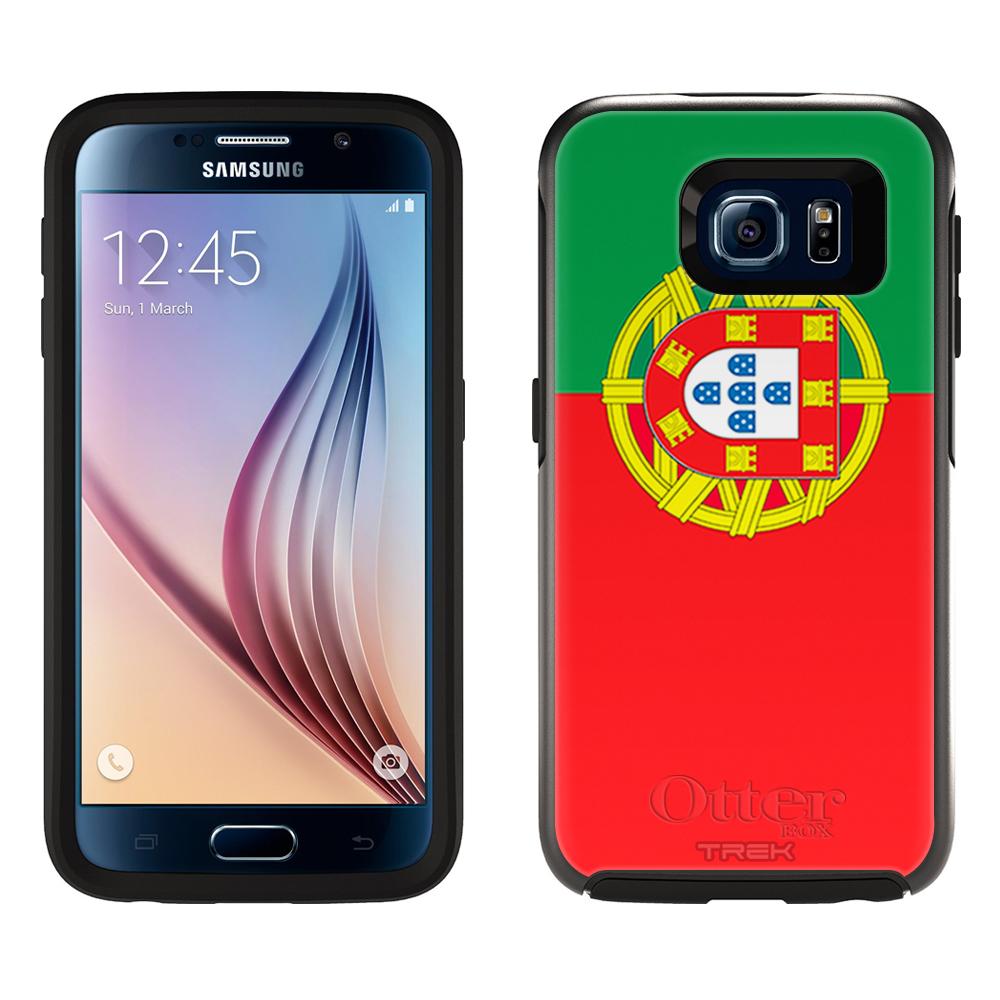 OtterBox Symmetry Samsung Galaxy S6 Case Portugal Flag OtterBox Case by Trek Media Group