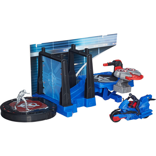 Marvel Avengers HQ Captain America Tower Defense Set