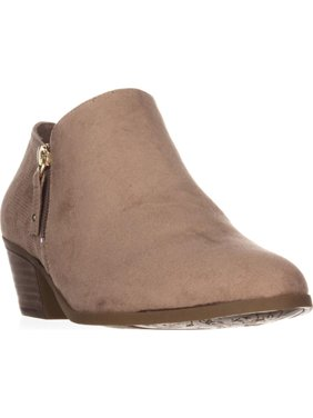 Womens Dr. Scholl's Brief Ankle Booties, Putty, 7.5 US