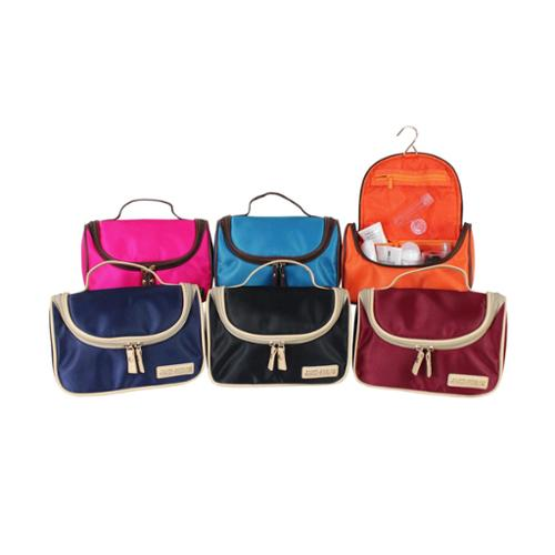 Jacki Design Essential Travel Bag with Hanger Hot Pink