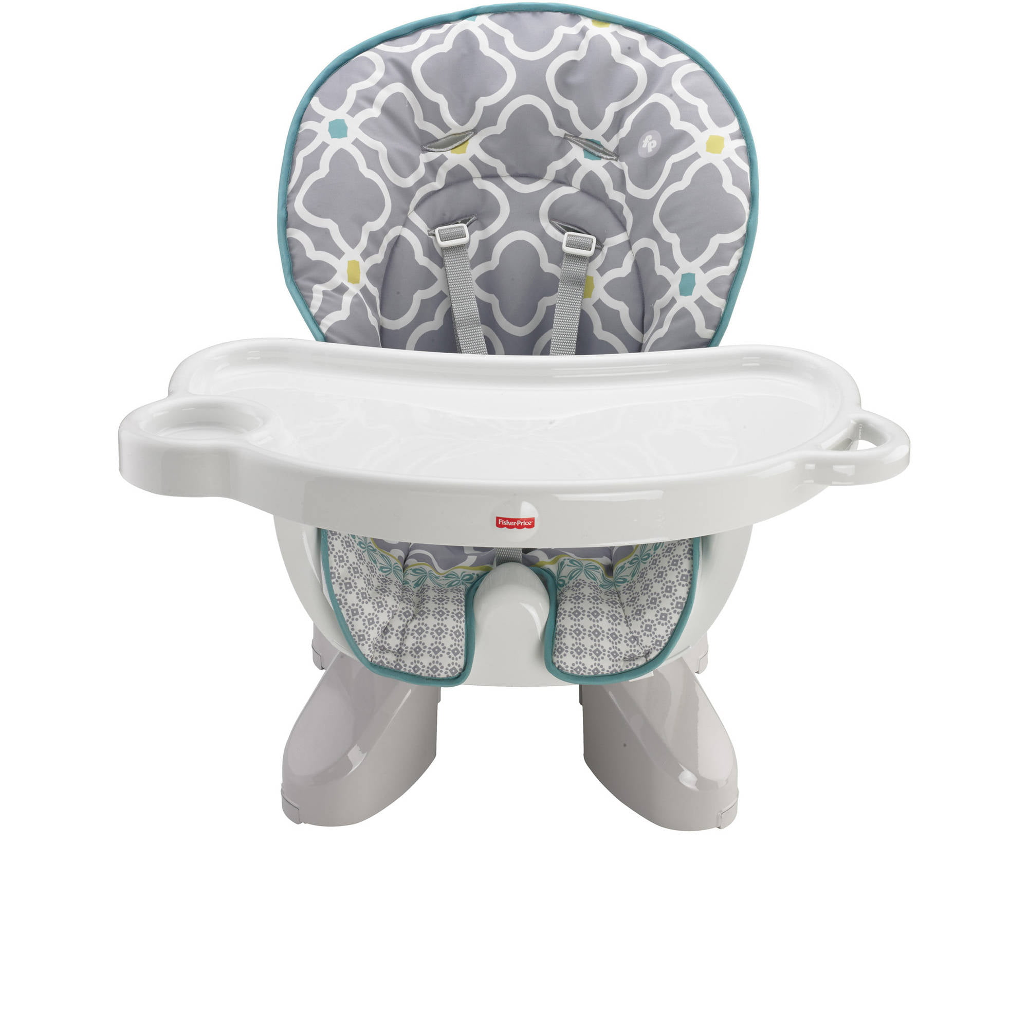 sc 1 st  Walmart & Fisher-Price SpaceSaver High Chair Morning Fog - Walmart.com