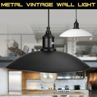Industrial Vintage Light Metal Cage Hanging Ceiling Wall Light Pendant Light Holder Lamp Shade