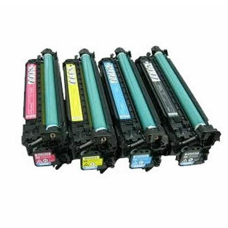 Compatible HP 507A Toner Cartridge Combo CE400X CE401A CE402A CE403A By Superink - image 1 de 1