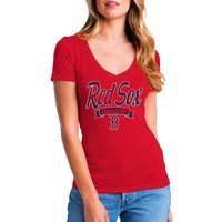fa683c163 Product Image MLB Boston Red Sox Women's Short Sleeve Team Color Graphic Tee