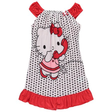 Hello Kitty Nightgown - Hello Kitty Big Girls'