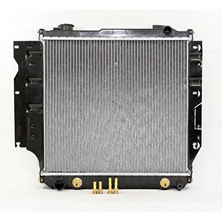 Radiator - Pacific Best Inc For/Fit 2101 Jeep Wrangler AT/MT 2.5 / 4.0L PT/AC (Best Fog Lights For Jeep Wrangler)