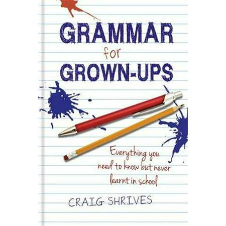 Grammar for Grown Ups](Fun Toys For Grown Ups)