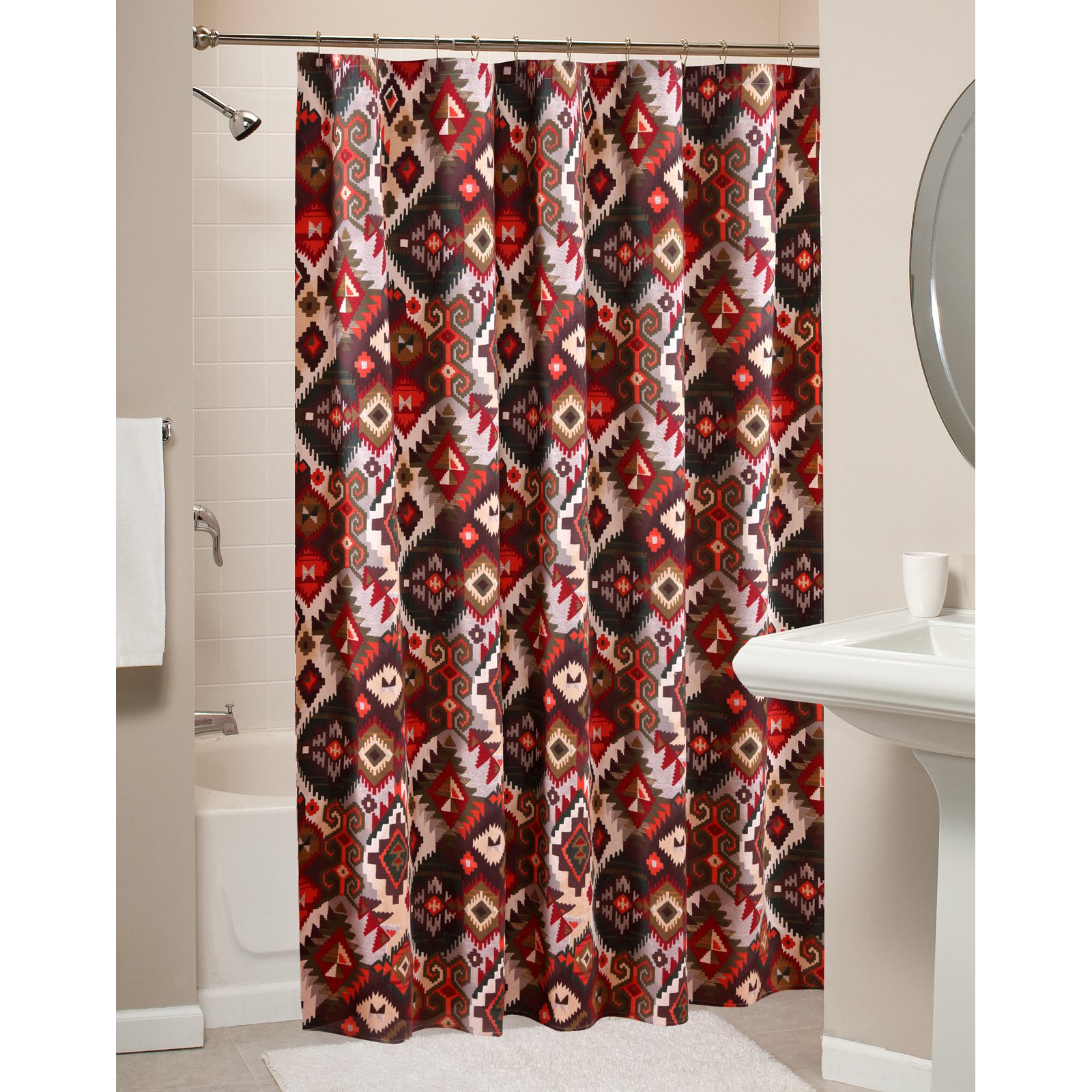 Greenland Home Folk Festival Shower Curtain