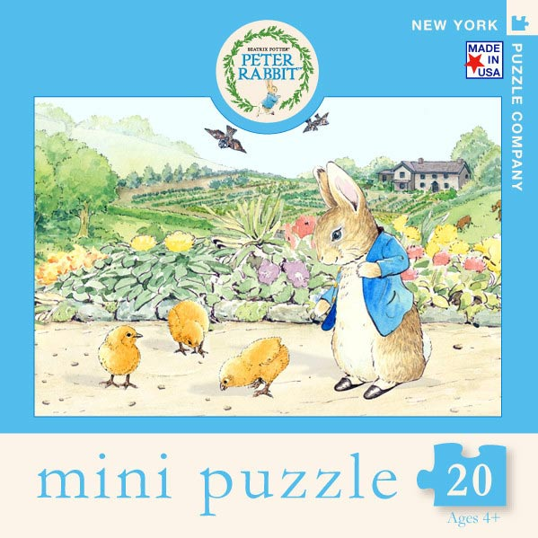 Peter Rabbit and Chicks 100 Piece Puzzle