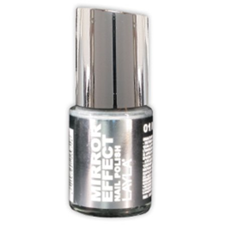 Layla Mirror Effect Nail Polish, #1 Metal Chrome