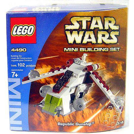 Star Wars Mini Building Sets Republic Gunship Set LEGO 4490