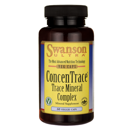 Trace Mineral Concentrate (Swanson Concentrace Trace Mineral Complex 60 Veg Caps )