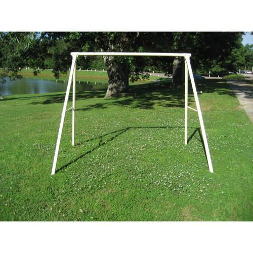 Troxel Company Flexible Flyer Lawn Swing Frame, White