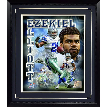 11x14 Deluxe Frame - Dallas Cowboys Ezekiel Elliott Dallas Cowboys Picture Frame
