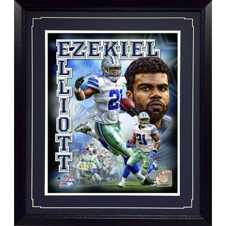 11x14 Deluxe Frame - Dallas Cowboys Ezekiel Elliott