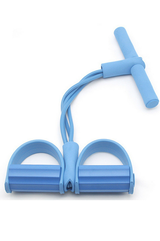 Multitrust Fitness Resistance Bands Exercise Equipment Elastic Sit Up Pull Rope Sport Pedal - Walmart.com