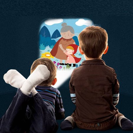 Magicfly Storybook Projector Torch, Kids Storybook Flashlight Toys for Preschool Kids Toddlers Boys and Girls Education - Halloween Preschool Stories