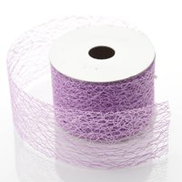 """BalsaCircle 2"""" x 10 yards Glittery Crafts Mesh Ribbon by the Rolls - DIY Crafts Bows Wedding Party Favors Decorations Invitations"""