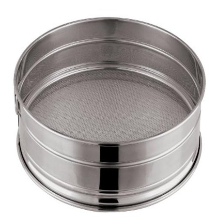 Paderno World Cuisine 13-3/8-Inch Stainless-Steel Coarse Mesh Flour Sieve, 10 Perforations