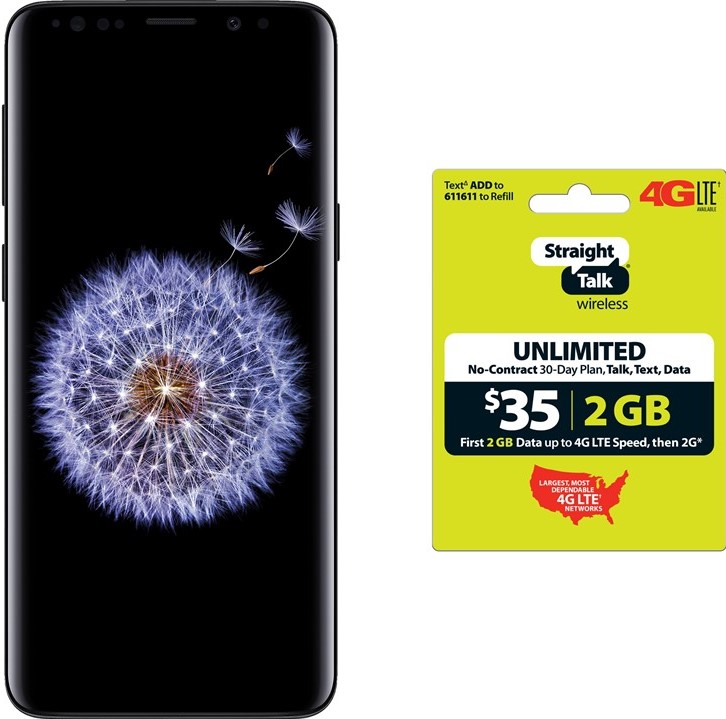 Straight Talk Samsung Galaxy S9+ $125 off with Purchase of $35 Airtime