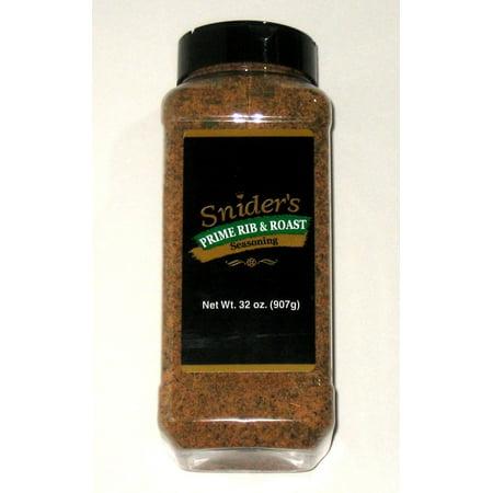 Snider's Prime Rib & Roast - 32 Oz - All purpose seasoning