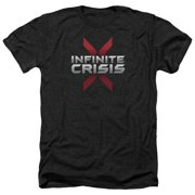 Infinite Crisis Logo Mens Heather Shirt