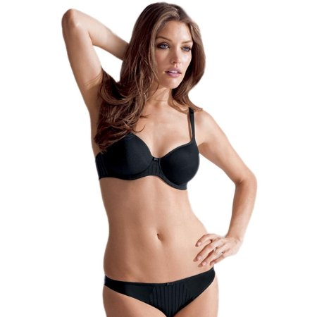 Rosa Faia Daytona Women`s Underwire Spacer Bra, 38D, black