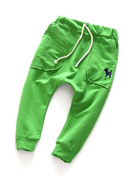 Kacakid Kids Boy Girl Unisex Cotton Harem Pants Trousers Slacks Bottoms Clothing