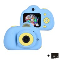 Treefloewr Kids Video Camera For Girls Boys 2 In Mini Digital Camera Camcorders