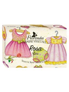Florinda Sweet Life Rose Vegetal Soap Bar for Children 200g 7oz