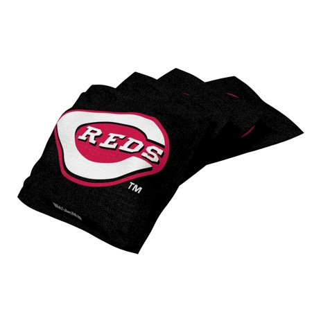 XL Bean Bag 4pk Cincinnati Reds Black