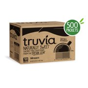 Truvia Natural Stevia Sweetener, 500 packets