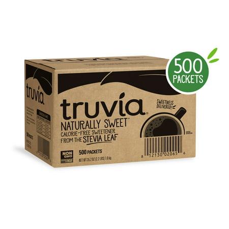 (500 Packets) Truvia Natural Stevia Sweetener