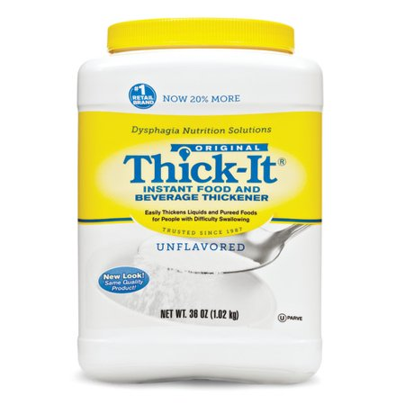 Thick-It Unflavored Ready to Use Food Thickener, 36 oz Canister