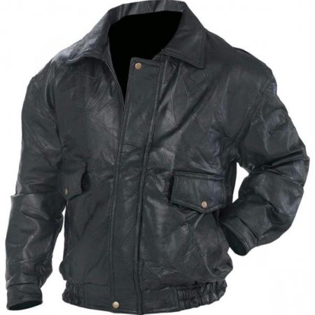 Napoline™ Roman Rock™ Design Genuine Leather Jacket - Large - GFEUCTL