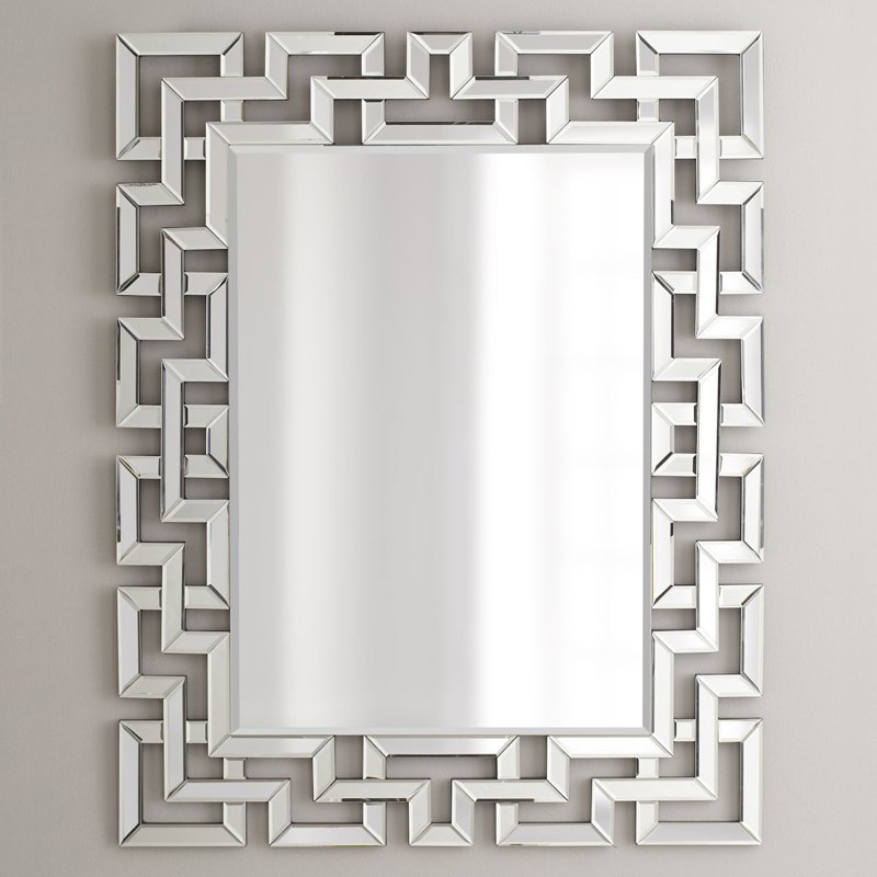Image of Afina Modern Luxe Rectangular Wall Mirror - 32W x 42H in.
